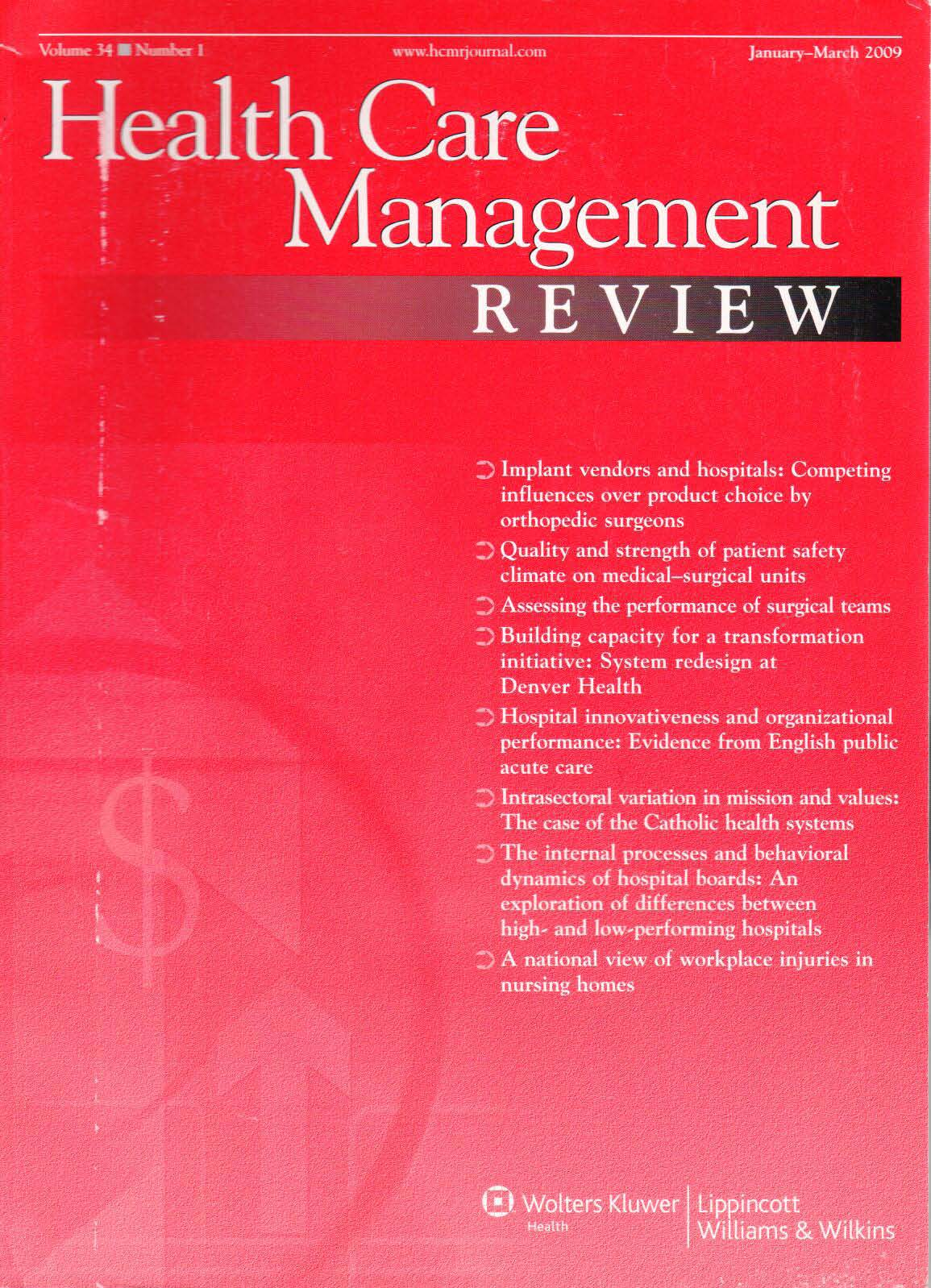 health-care-management-review-2009-Thumbnail