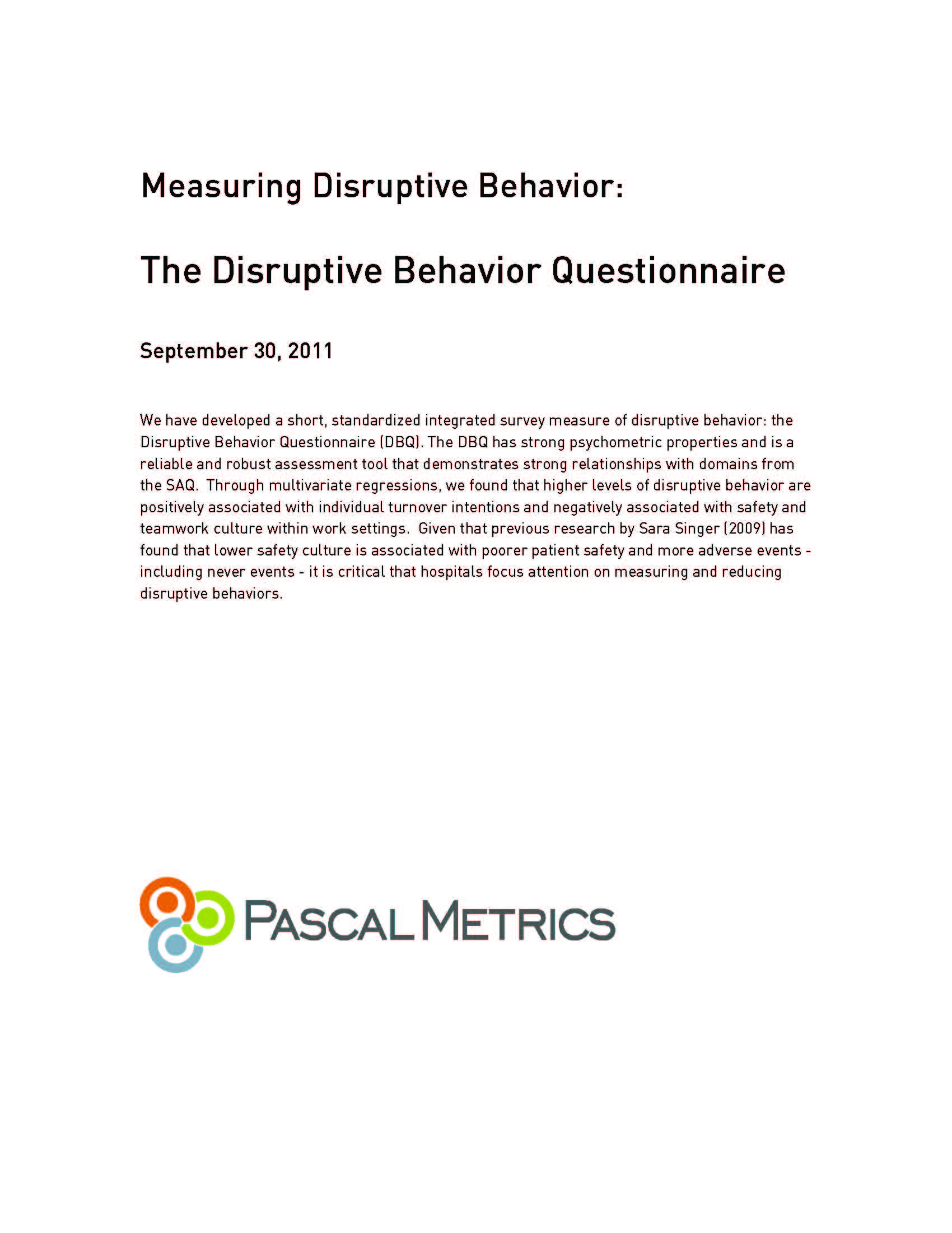 PascalMetrics-White-Paper-Disruptive-Behavior