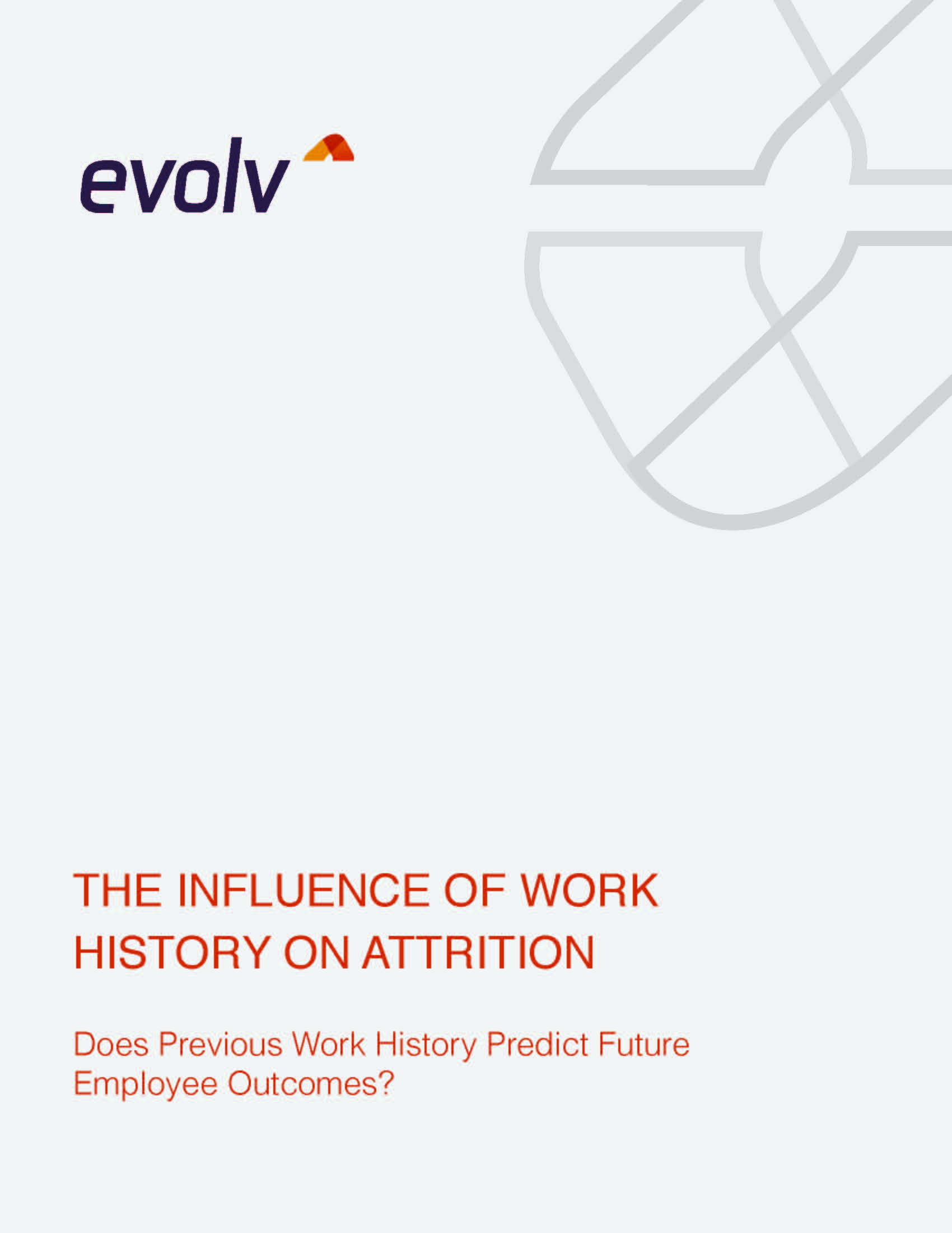 The Influence of Work History on Attention: Does Previous Work History Predict Future Employee Outcomes?