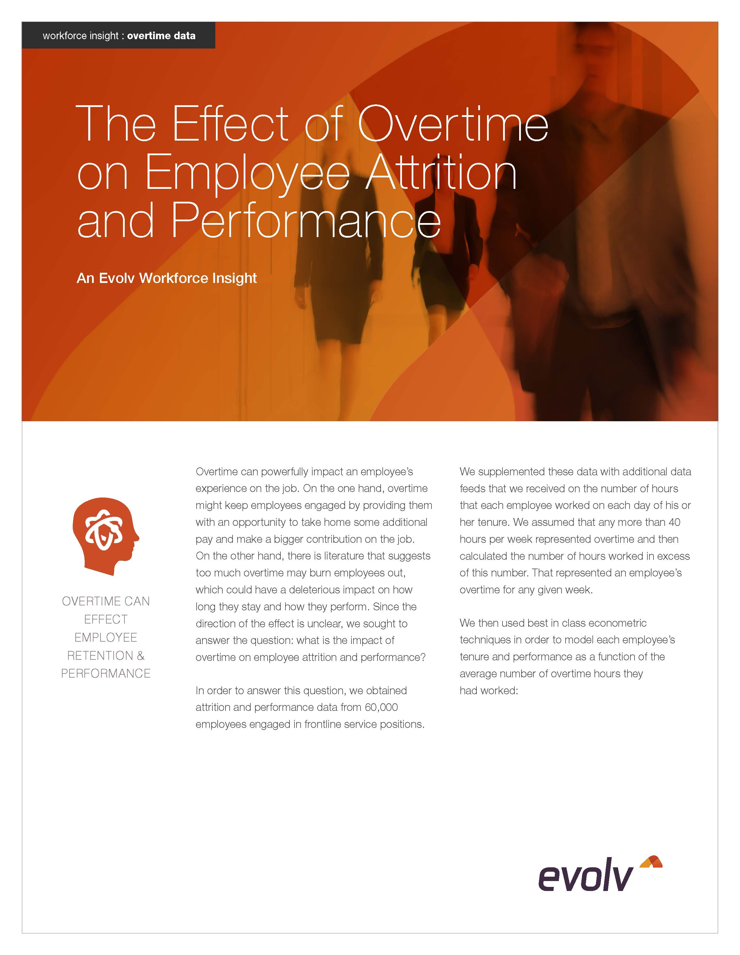 The Effect of Overtime on Employee Attrition and Performance